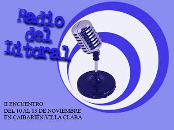 Evento de emisoras del Litoral en Caibarién