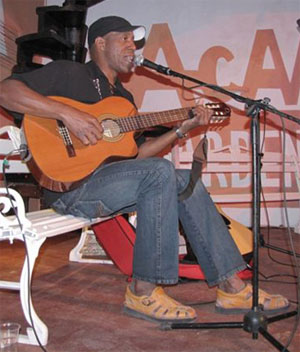 Tony Ávila en concierto en Caibarién