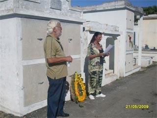 Homenaje a Antonio Hernández Pérez en Caibarién