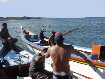 Pescadores de Caibarién (foto CNTV)